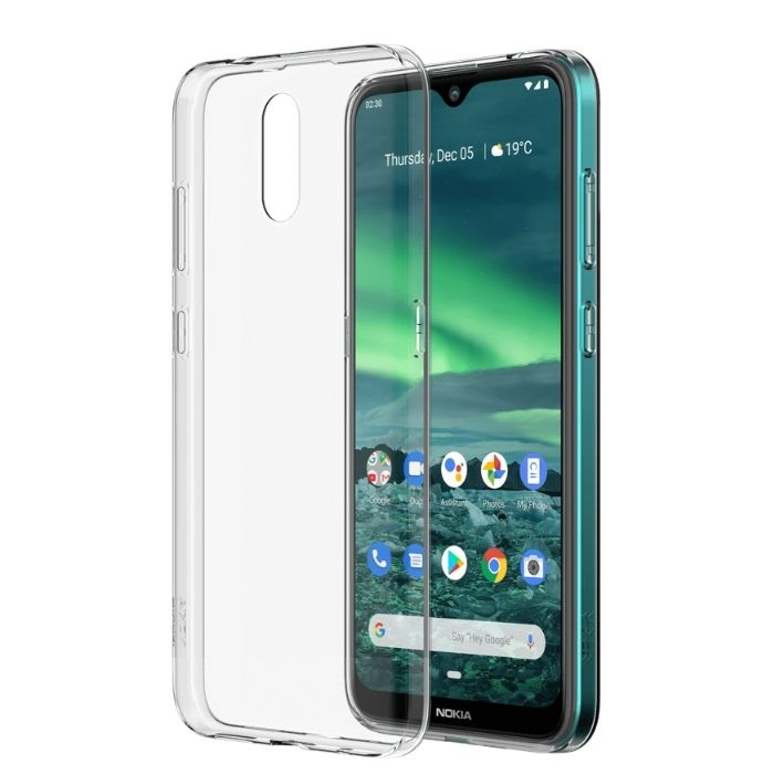 Soft Case for Nokia 2.3-Clear