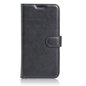 Sony Xperia XA Leather flip cover black
