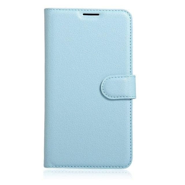 Sony Xperia XA Leather flip cover blue