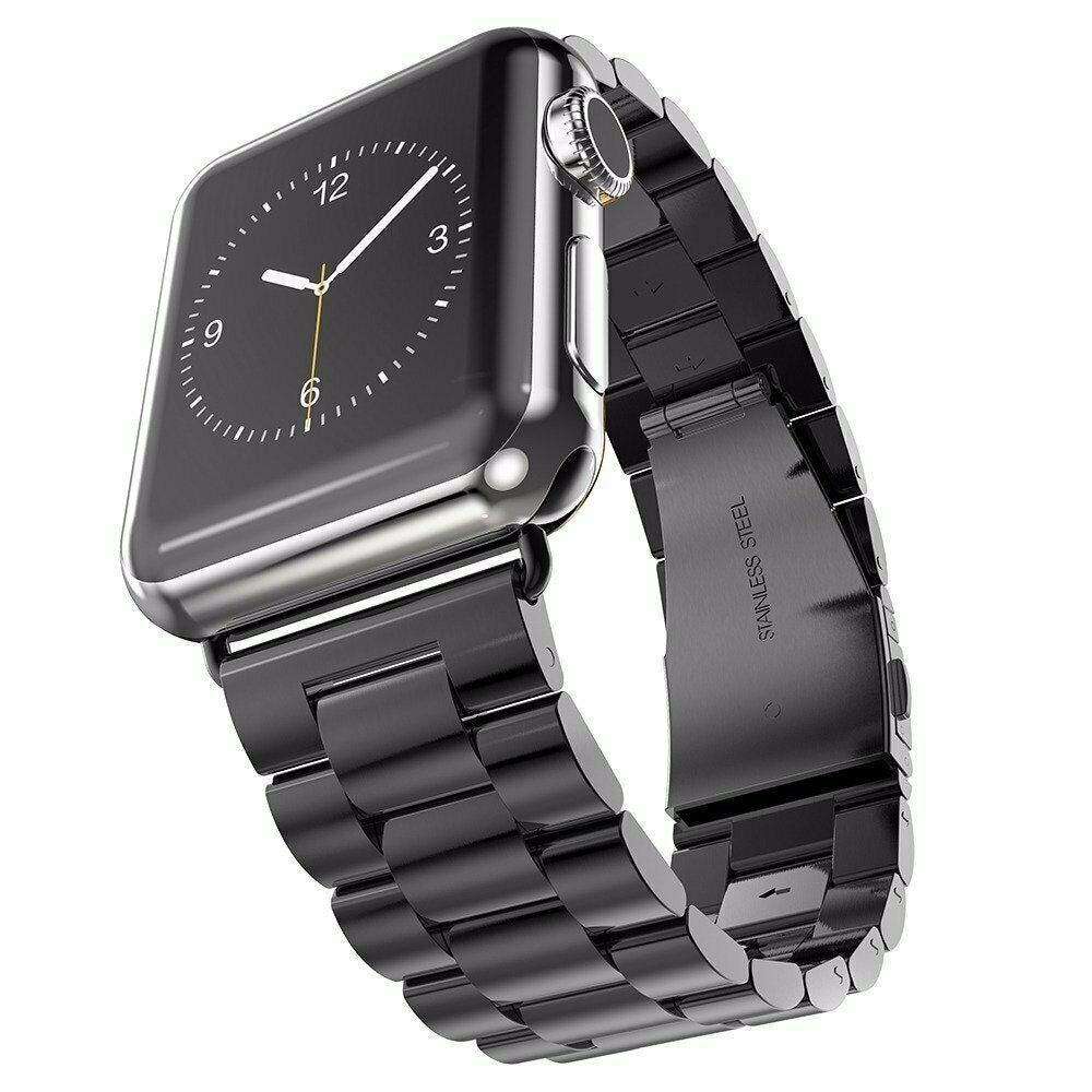 Apple Watch Stainless Steel Band - Black