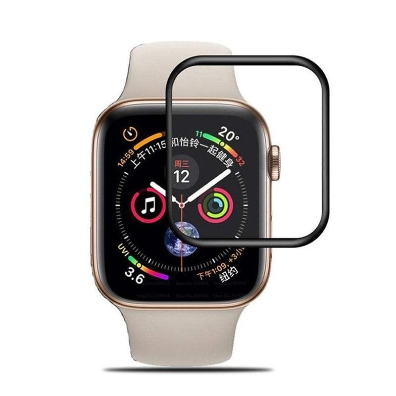 TEMPERED GLASS SCREEN PROTECTOR FOR APPLE WATCH SERIES 45 - 44MM protector