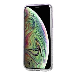 Tech21 Pure Shimmer Case for iPhone XS - Purple