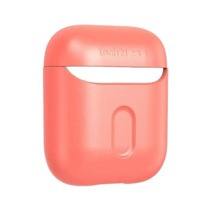Tech21 Studio Colour for Apple AirPods 1 & 2 - Coral