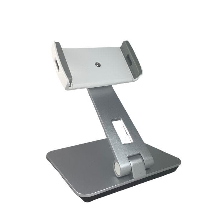 Universal Table Stand for Tablets and Smart Phones - Silver