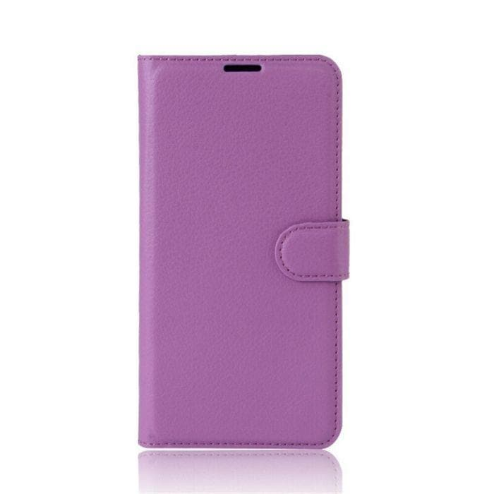WALLET CASE FOR HTC U11 purple
