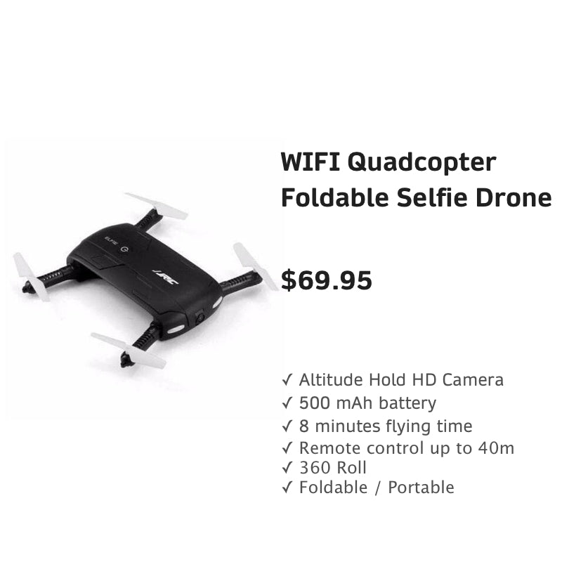 WIFIQuadcopterFoldableSelfieDrone