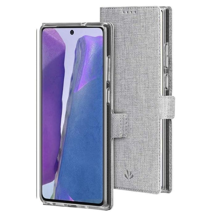 Wallet Case for Galaxy Note20-Grey