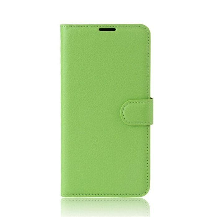 Wallet Case for Sony Xperia XA green