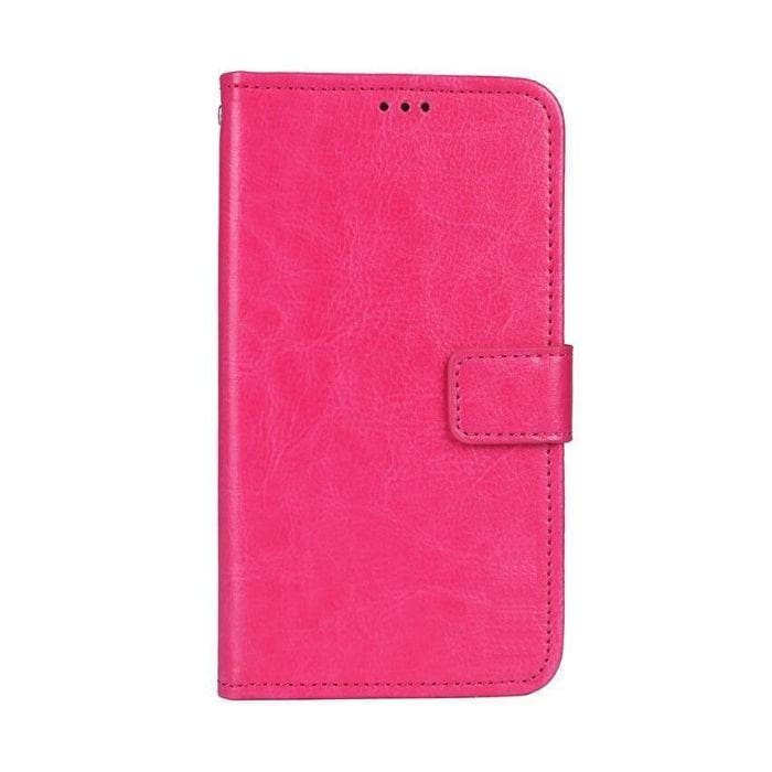 Wallet Case for Galaxy J5 Pro pink