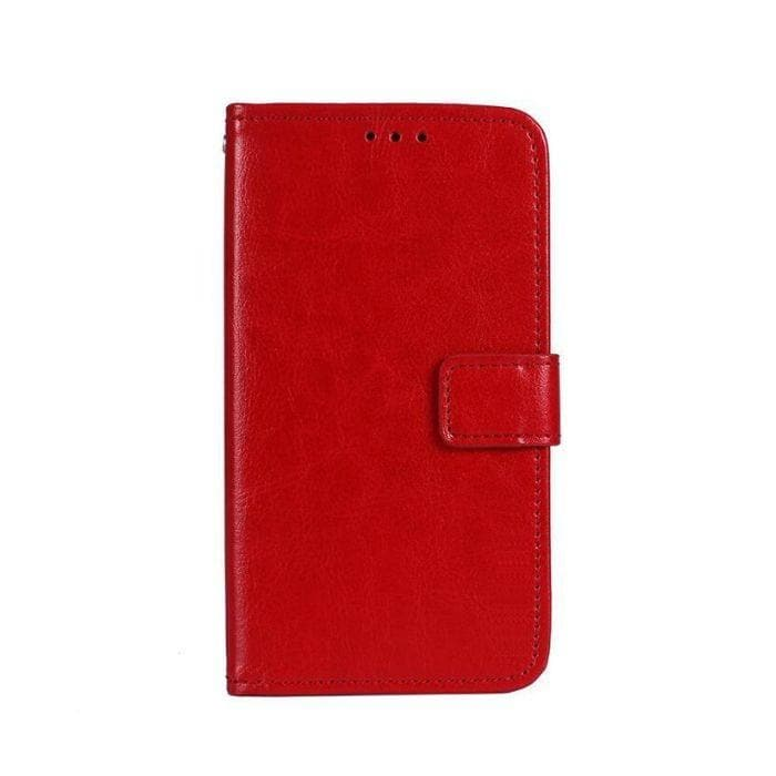 Wallet Case for Galaxy J5 Pro red