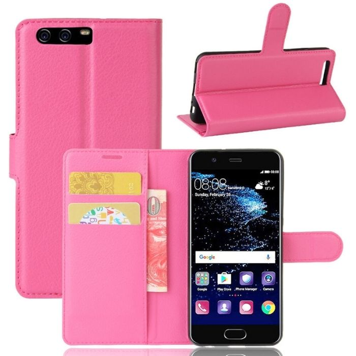 Wallet Case for Huawei P10 - Pink