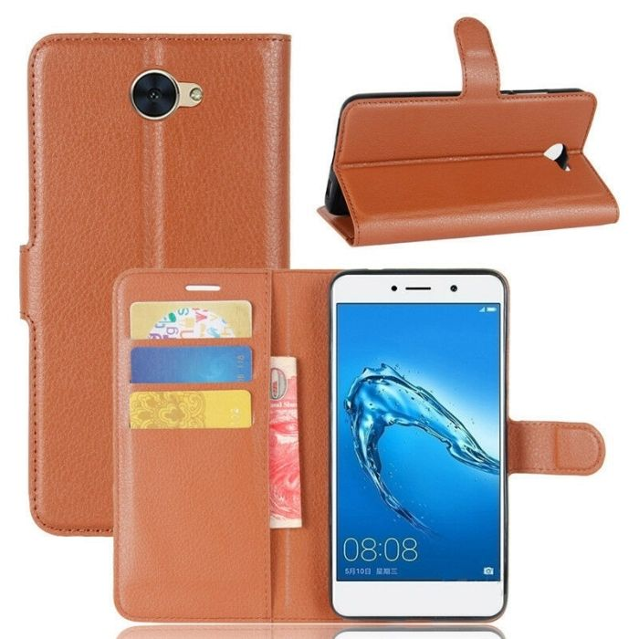 Wallet Case for Huawei Y5 2017 - Brown