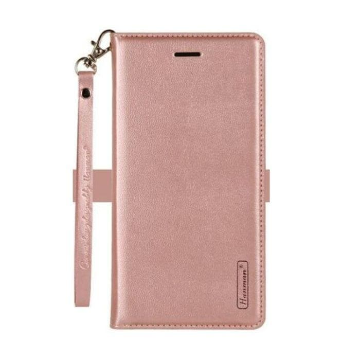 Wallet Case for Huawei Y6 2018 rose gold