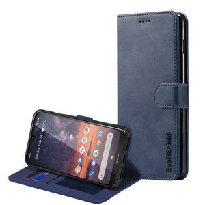 Wallet Case for Nokia 1.3-Navy