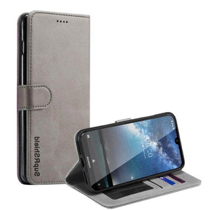 Wallet Case for Nokia 4.2-Grey Android