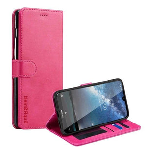 Wallet Case for Nokia 4.2-Pink Android