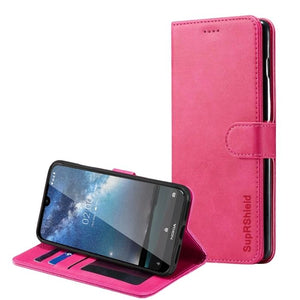 Wallet Case for Nokia 4.2-Pink