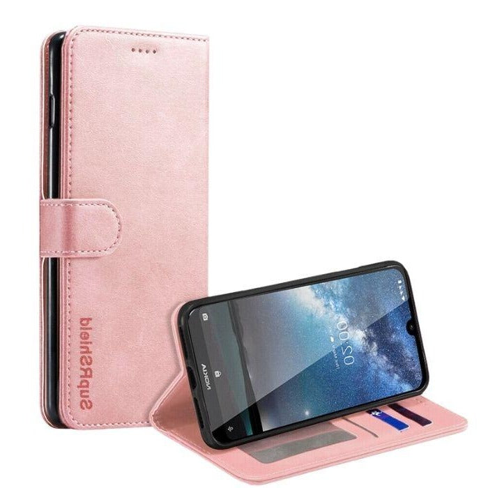 Wallet Case for Nokia 4.2-Rose Gold Android