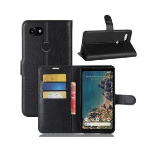 Wallet Case for Pixel 2 XL - Black open