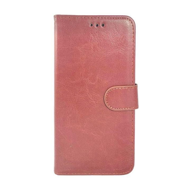 Wallet Case for Samsung Galaxy A70 - brown