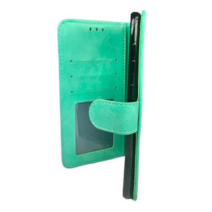 Wallet Case for Samsung Galaxy A70 - Mint open