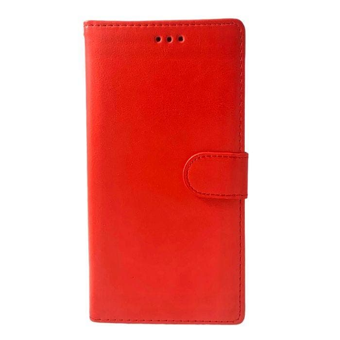 Wallet Case for Samsung Galaxy Note 10 - Red