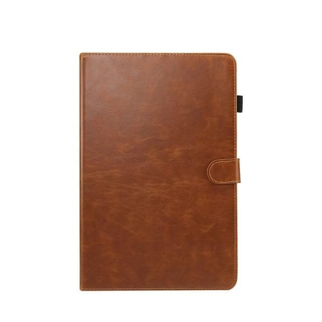 Wallet Case for Samsung Galaxy Tab A 10.5 light brown