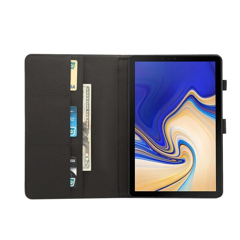 Wallet Case for Samsung Galaxy Tab A 10.5 open