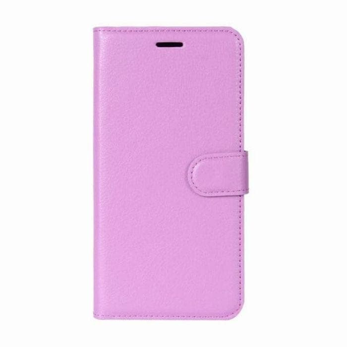 Wallet Case for Sony Xperia XA purple