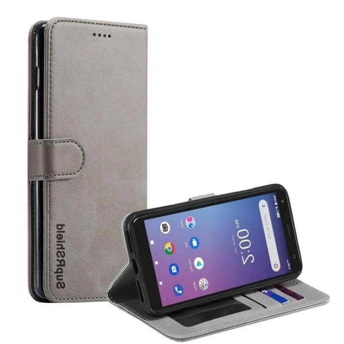 Wallet Case for Telstra Essential Pro-Grey