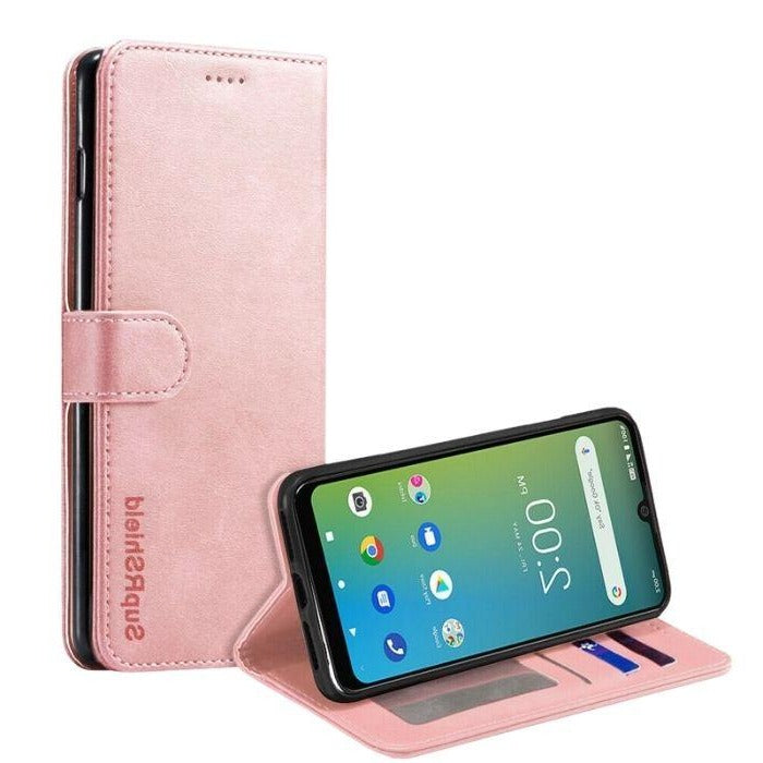 Wallet Case for Telstra Evoke Plus-Rose Gold