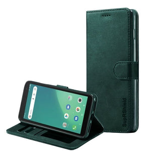 Wallet Case for Telstra Essential Plus 3-Matte Green