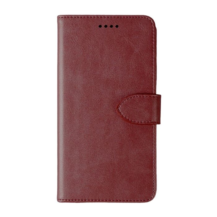 Wallet case for Alcatel 3L 2019 - Brown