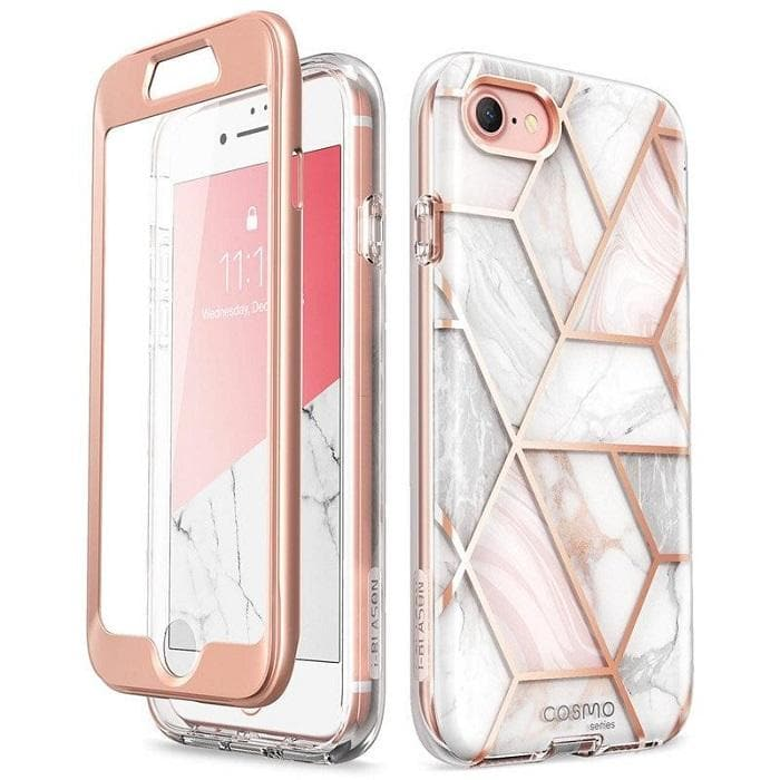 iphone 7 iphone 8 iphone se 2020 marble case cosmo i-blason