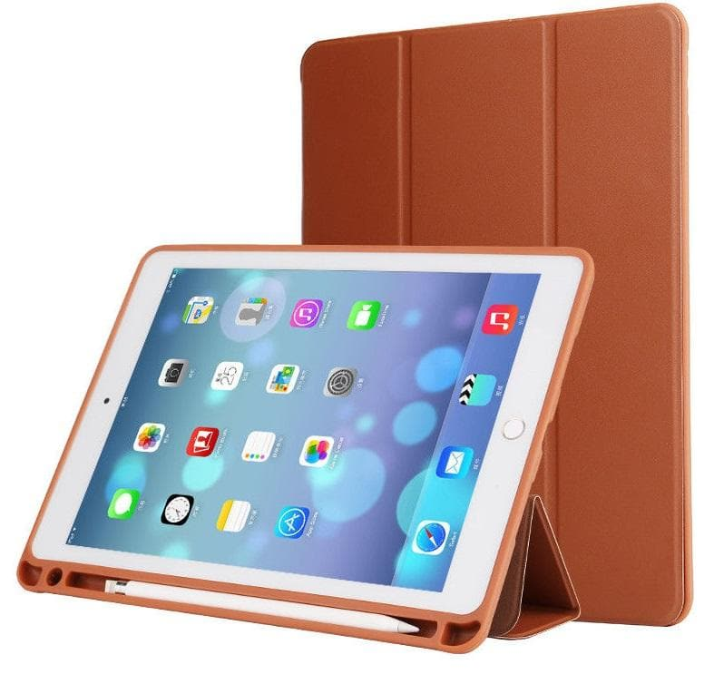 "Flip Case with Pencil Holder for iPad Pro 12.9"" (2017) brown"