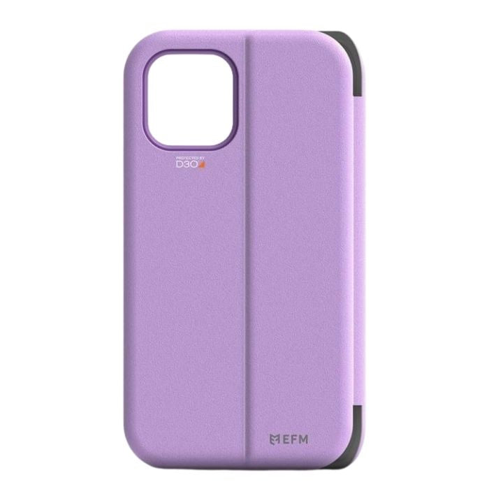 EFM Miami Wallet Case Armour for iPhone 12/12 Pro - Heliotrope