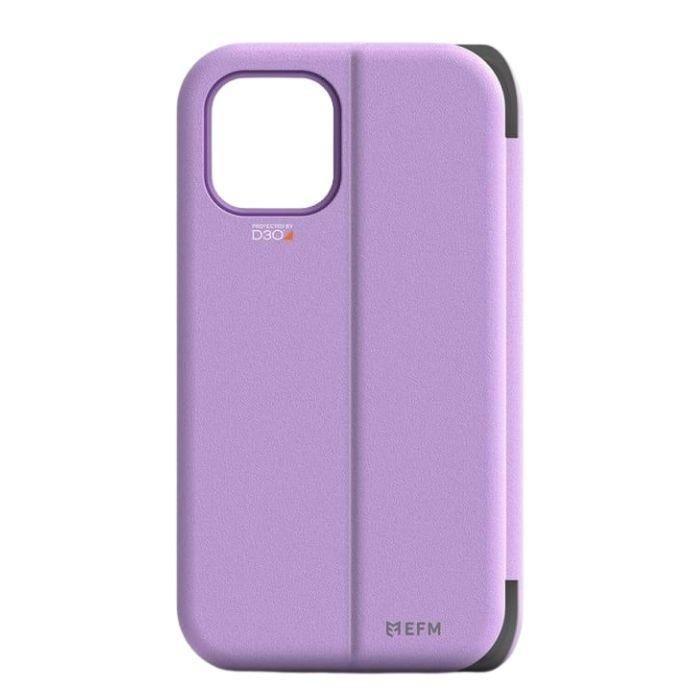 EFM Miami Wallet Case Armour for iPhone 12 Pro Max - Heliotrope