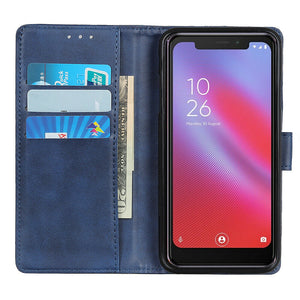 Wallet Case for Vodafone Smart N10 -Navy