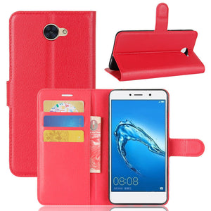 Wallet Case for Huawei Y5 2017 - Red