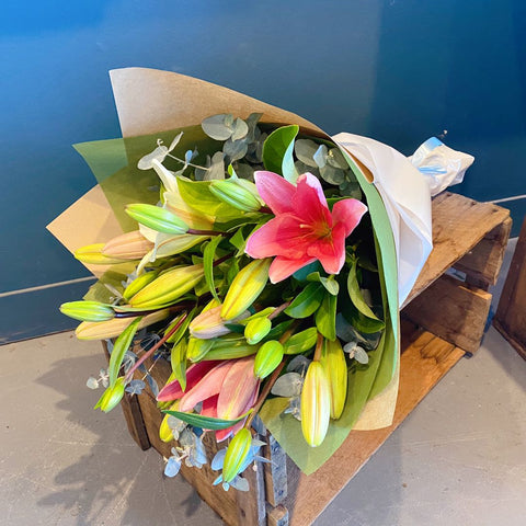 Bouquet of #Lilies