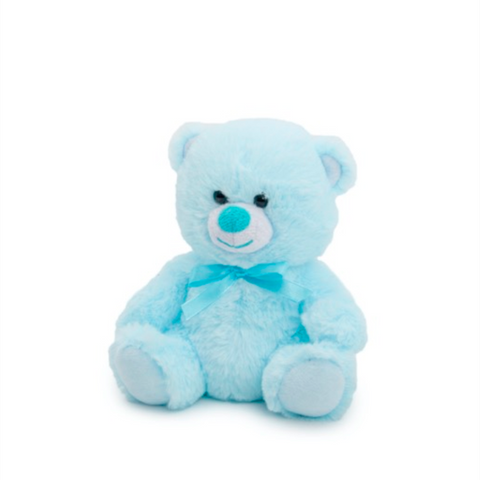 Small Blue Teddy 15cm