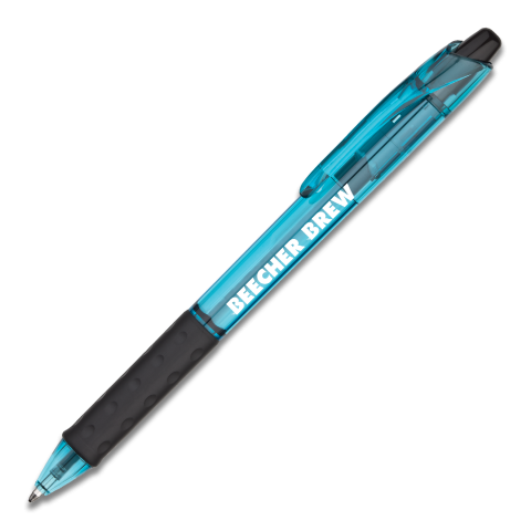 RSVP RT Retractable Ballpoint Pen (Medium) - Sky Blue Barrel