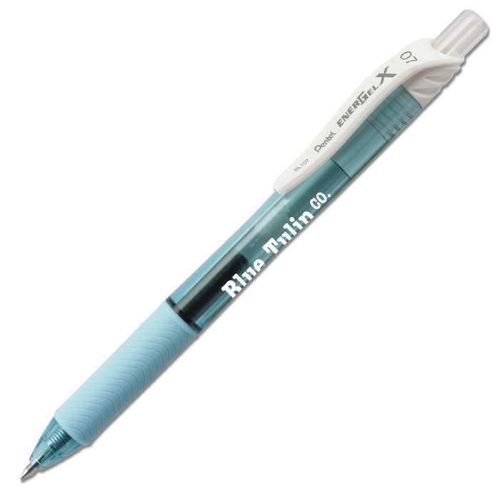 EnerGel-X Retractable Liquid Gel Pen with Pastel Barrels (Medium)