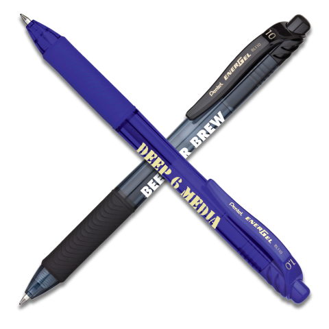 EnerGel-X Retractable Liquid Gel Pen (Bold)