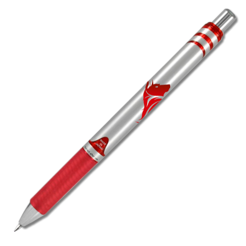 EnerGel RTX Retractable Liquid Gel Pen (Medium) - Red Barrel