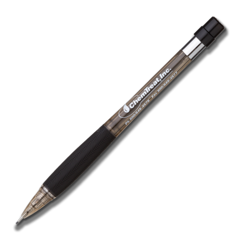 Quicker Clicker Mechanical Pencil - Transparent Black Barrel 0.5mm