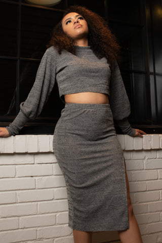Cami Sweater and Skirt Set