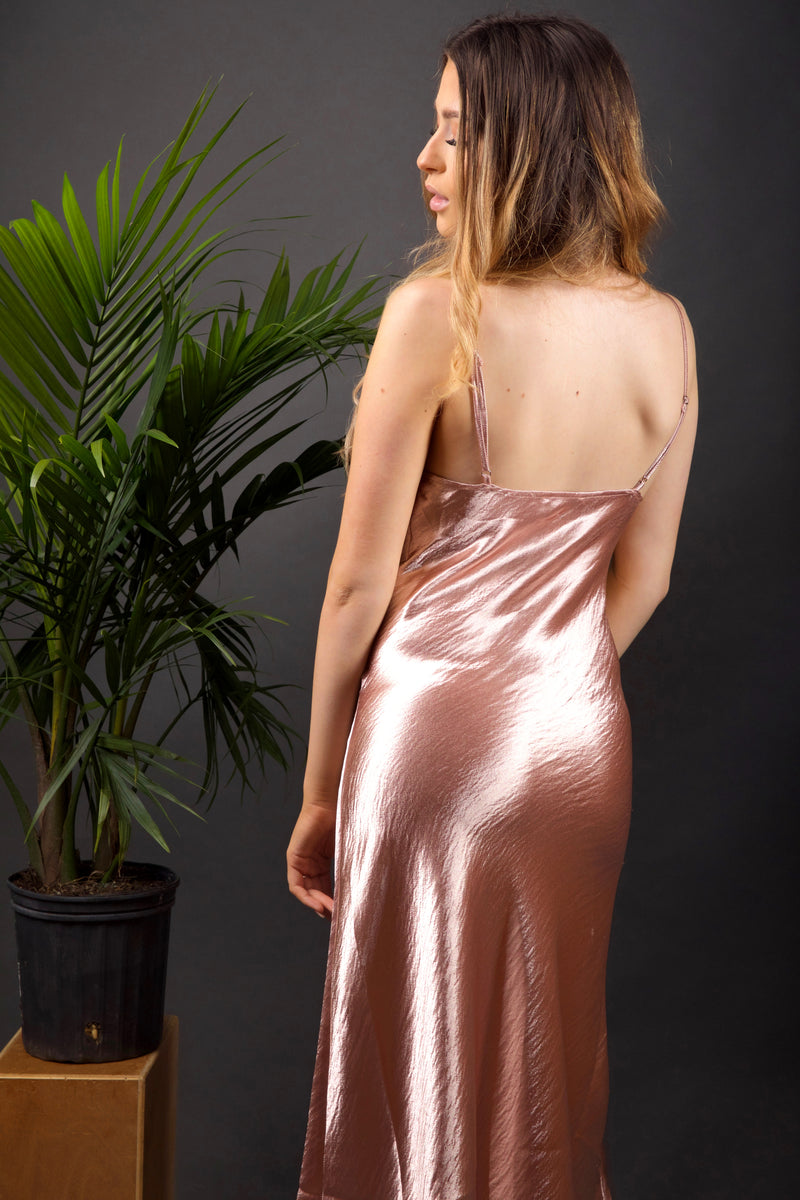 Diana Slip Dress (Blush)