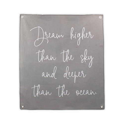 Dream Deeper Canvas Banner