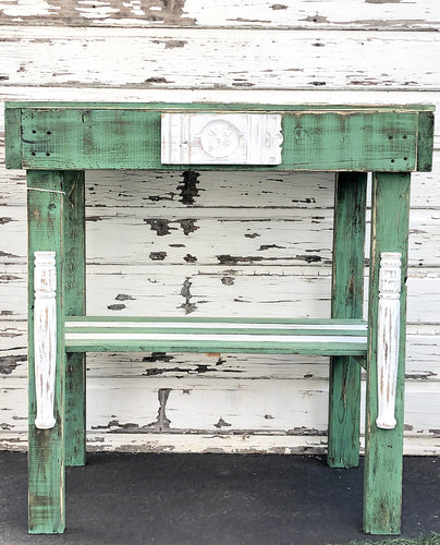 Farmhouse Style Rustic High Table